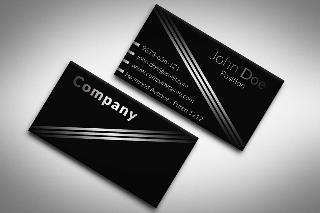 Elegant Plastic Business Card Print