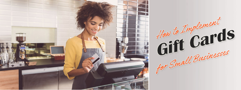 Guide to gift cards for small businesses