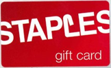 Staples Free Gift Card