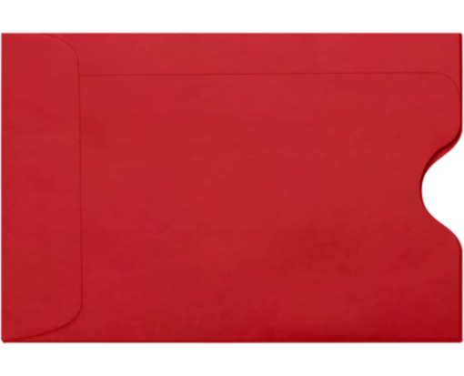 Gift Card Sleeves - Ruby Red
